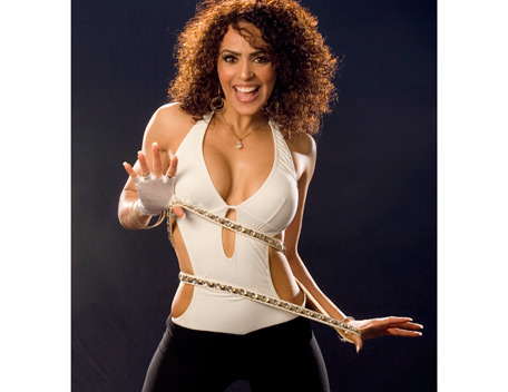 WWE LAYLA wallpaper titled Layla Photoshoot Flashback