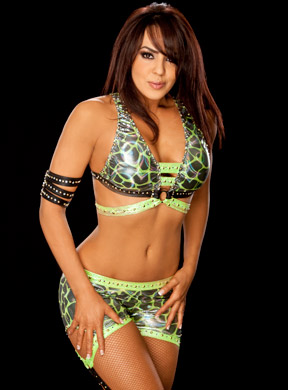 Layla (WWE) fond d'écran possibly with a bikini called Layla Photoshoot Flashback
