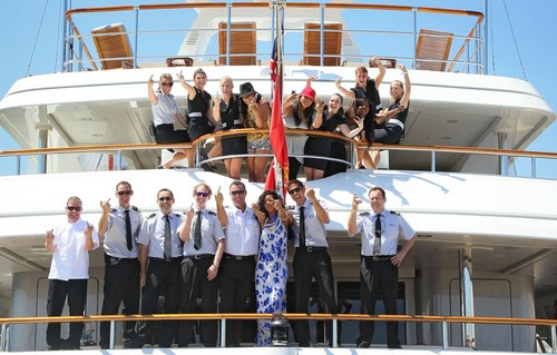 Leaving Her Yacht In Nice, France [29 July 2012] - rihanna Photo