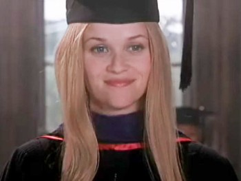 Legally Blonde wallpaper containing an academic gown entitled Legally Blonde