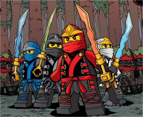 Ninjago Wallpaper Probably With Anime Titled Lego NinjaGo