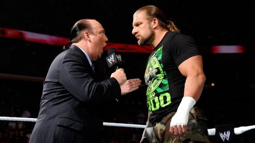 Lesnar Accepts HHH challenge