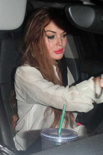 Lilo's night out - lindsay-lohan Photo