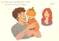 Lily and James - harry-potter fan art