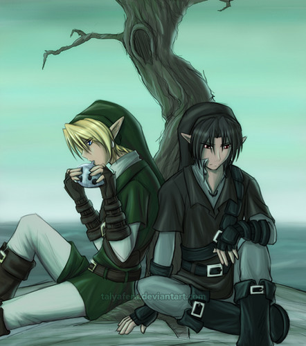 Link and Dark are Друзья ^^