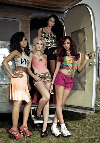 Little Mix | Fabulous Magazine Photoshoot | July 2012.