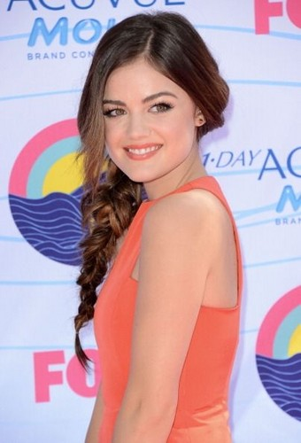 Lucy at Teen Choice Awards 2012