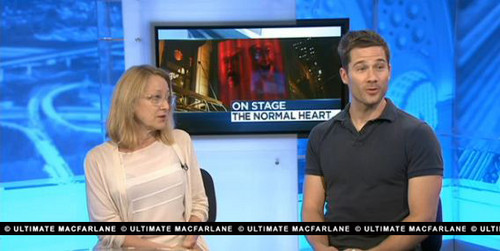 Luke Macfarlane and Patricia Wettig on NBC talking about TNH @ Arena Stage, July 2012