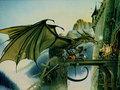 Marcia Gillmore - dragons wallpaper