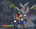 super-mario-bros - Mario and Luigi superstar saga wallpaper wallpaper