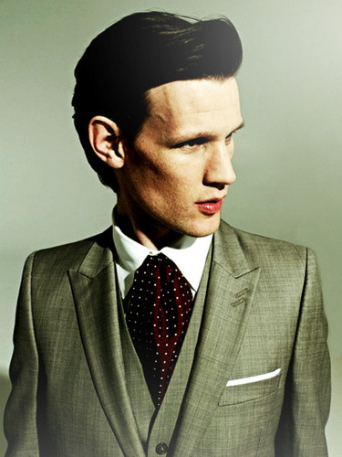 Matt Smith 壁纸 with a business suit, a suit, and a double breasted suit entitled Matt Smith