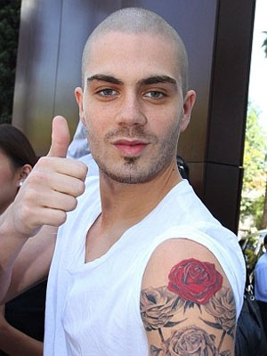 Max George Tattoo
