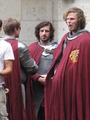 Merlin- Season 5- Filming - gwaine photo