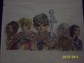 Merlin drawn - merlin-on-bbc fan art