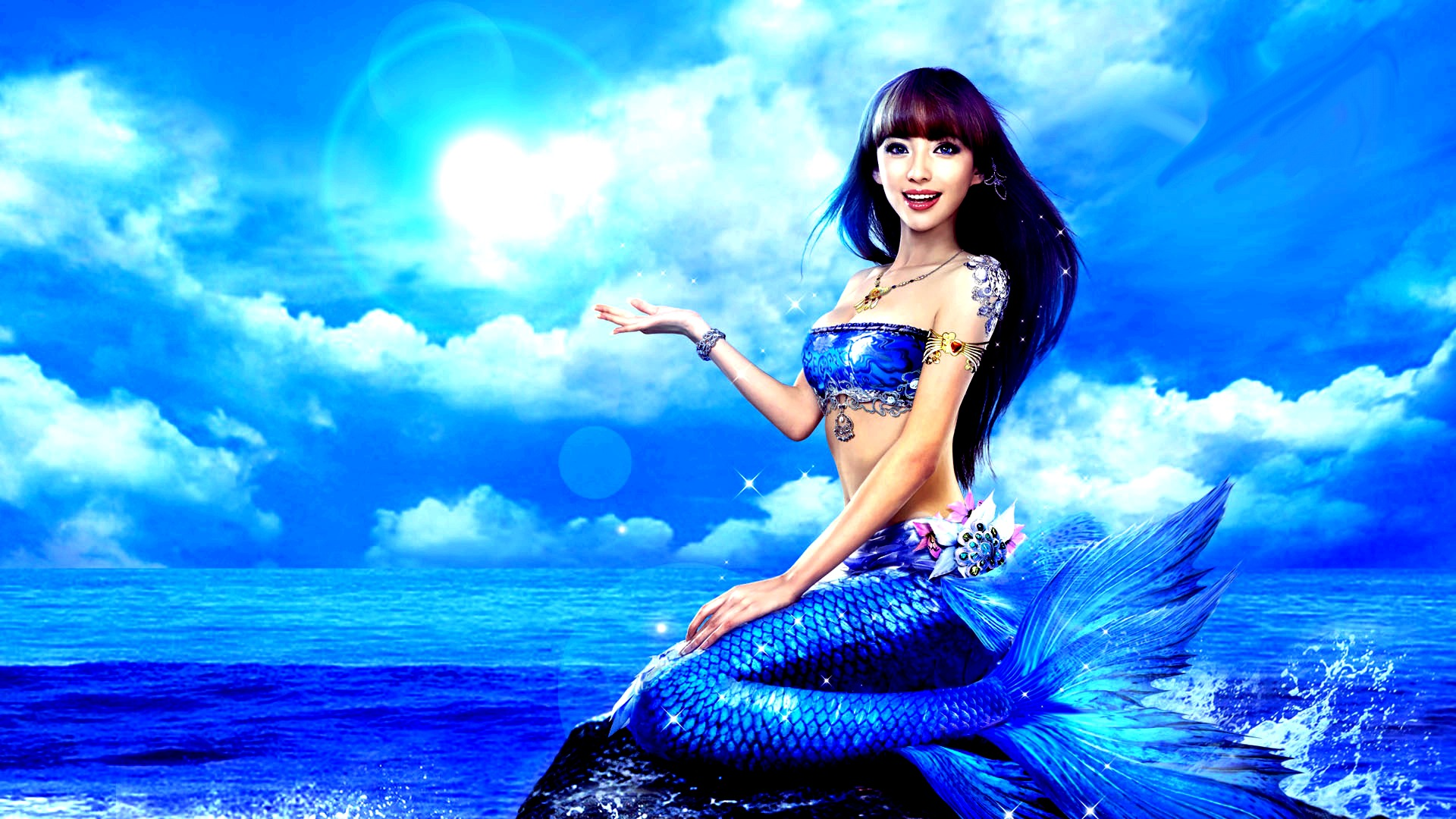 fantasy images mermaid hd wallpaper and background photos