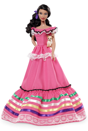 Barbie: Dolls Collection wallpaper probably with a hoopskirt and a crinoline entitled Mexico Barbie® Doll 2012