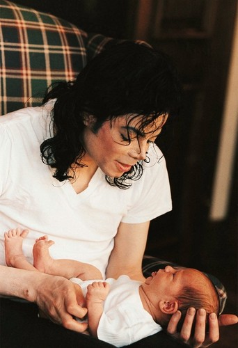 Michael And Baby Son, Prince
