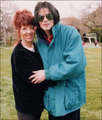 Michael And Omer's Mother, Pia - michael-jackson photo