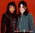 Michael And Siedah - michael-jackson photo