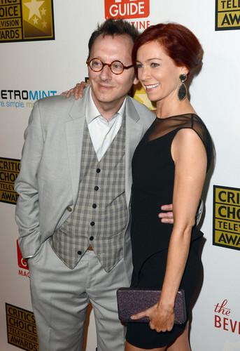 Michael Emerson & Carrie Preston    Critics' Choice Awards