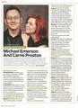 Michael Emerson & Carrie Preston || EW Scan