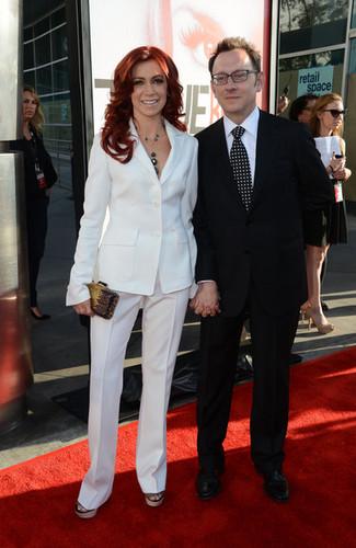 Michael Emerson & Carrie Preston || True Blood Premier