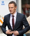 Michael Fassbender on the set of The Counselor in London August 2012 - michael-fassbender photo