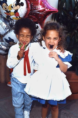 Michael Jackson's nephew Marlon Jackson Jr and Nicole Richie