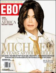 Michael On The Cover Of Ebony Magazine