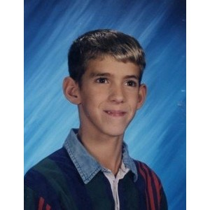 Michael Phelps School Picture