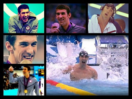 Michael Phelps kertas dinding titled Michael Phelps