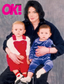 Michael With His Two Children, Prince And Paris - michael-jackson photo