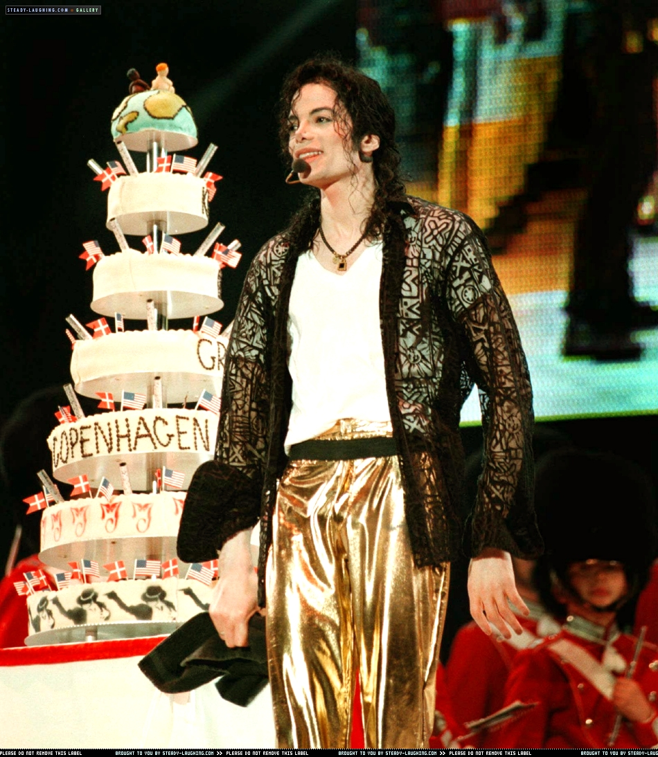 "Michael's ""39th"" Birthday In Copenhagen, Denmark Back In 1997"