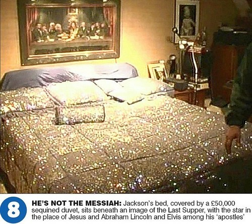 Michael&#39;s Bedroom At Neverland Ranch - michael-jackson Photo
