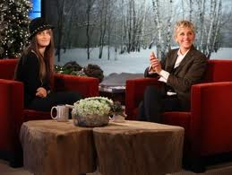 """Michael's Daugher, Paris, on """"The Ellen DeGeneres Show"""", Thursday, December 14, 2011"""