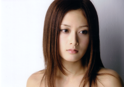 Jpop wallpaper containing a portrait and attractiveness called Miki Sato