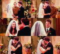 monica y chandler