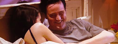 Monica et Chandler