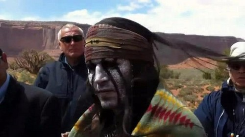Johnny Depp wallpaper called More pics of Tonto:)
