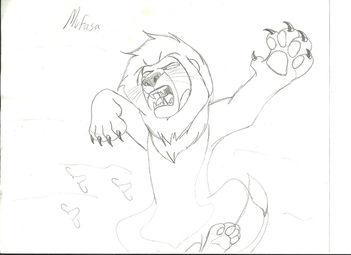 Lion King Drawings Mufasa