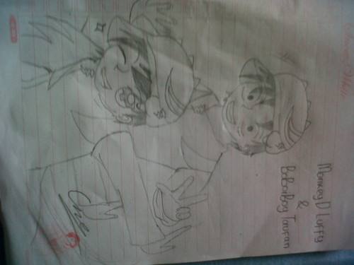 My Fanart Mix of BoBoiBoy and One Piece - boboiboy Fan Art