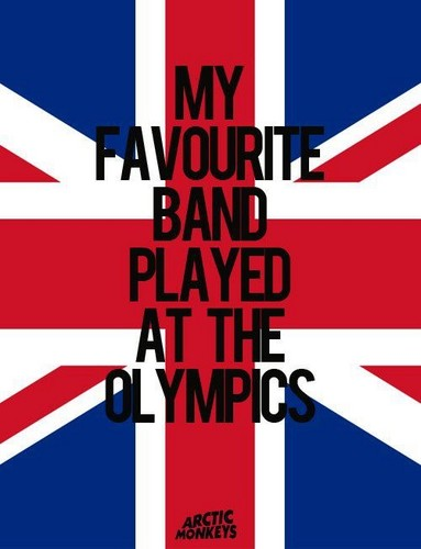 Arctic Monkeys wallpaper called My favorite band played at the Olympics