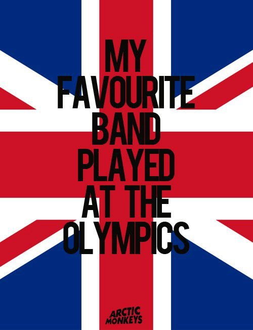 My favorite band played at the Olympics