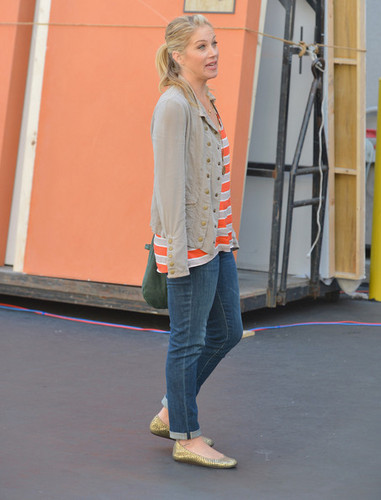 """NBCUniversal's """"Up All Night"""" TCA Set Visit"""