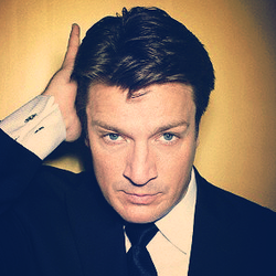 Nathan Fillion - castle Photo