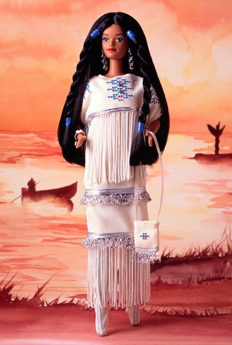 Barbie: Dolls Collection wallpaper called Native American Barbie® Doll 1st Edition 1993