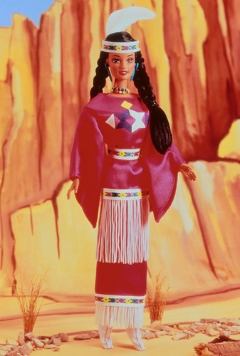 Barbie: Dolls Collection wallpaper entitled Native American Barbie® Doll 3rd Edition 1995