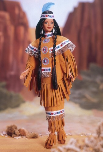 Barbie: Dolls Collection wallpaper titled Native American Barbie® Doll 4th Edition 1998