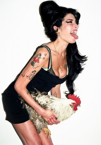 New Amy Winehouse 写真 Released によって Terry Richardson