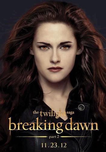 New Breaking Dawn part 2 poster of Bella Cullen